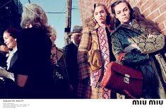 Miu Miu's Fall 2015 Campaign by Steven Meisel