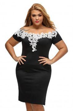 b61644c780 Fremont fekete - női ruha Peplum Ruha, Testhezálló Ruha, Női Divat Ruhák,  Csipke