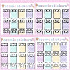 I've been working on panda and polar bear versions of all my bear stickers and I think I like these ones better!!  These stickers are now available on my Etsy at http://ift.tt/1IIUKtJ  Use the coupon code COSMIC10 for 10% off your entire order (no minimum spend)!  #plannerstickers #planner #kawaii #harajuku #fairykei #stationary #cute #cosmicstickers #planneraddicts #kikkik #filofax #erincondren #eclifeplanner #organiser #stickers #dreamy #panda #polarbear #planneraddict #plannergirl by…