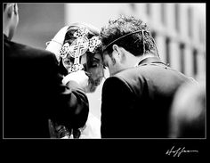 Armenian wedding ceremony- the Crossing of the Bride and Groom - My FAVORITE Armenian tradition