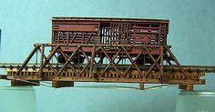 Buildings Tunnels and Bridges 120273: Truss Bridge Z Scale Model Railroad Structure Unpainted Wood Laser Kit Rsl4028 -> BUY IT NOW ONLY: $34.05 on eBay!
