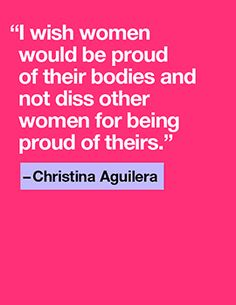 Quote of the Day: Christina Aguilera