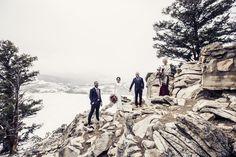 Cody and Nicole | Sapphire Point, Winter Breckenridge Colorado Wedding | Snowy Rocky Mountain Wedding| Wedding Party