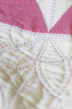 Big Stitch quilting sarah feilke