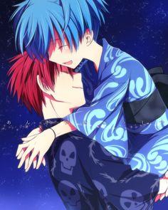 Ansatsu Kyoushitsu / Assassination Classroom - Karma x Nagisa by ゆう on pixiv (id 51643719) (I'll say it again: Sailboat for me!)