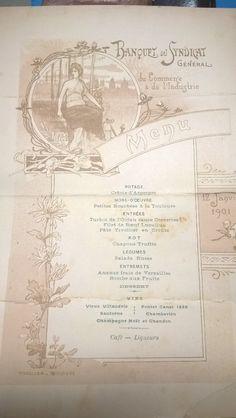 Quelques menus toulousains pr couronner le tout ! BM Toulouse/Alexandre Jury Toulouse, Vintage World Maps, Olivier Salad, Truffle