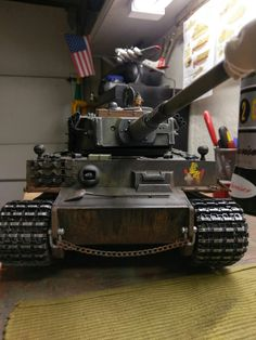 My Tiger 1 with Clark tk22 nears completion