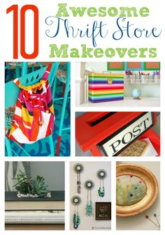 10 Awesome DIY Thrift Store Makeovers