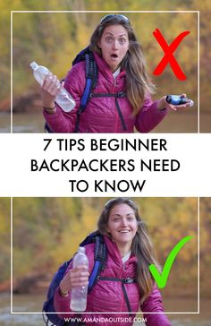 Backpacking could be a smart way to escape your routine for some days (or (or weeks / months / years). But, it may be dangerous if you don't understand what you're doing.These beginner backpacking tips… Ultralight Backpacking, Backpacking Tips, Hiking Tips, Hiking Gear, Camp Gear, Kayak Camping, Camping And Hiking, Camping List, Winter Hiking