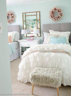 teenage girl bedroom makeover resource list