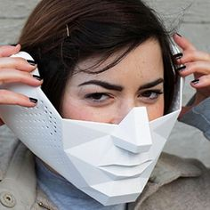 This Mask Gives You Superhuman Powers