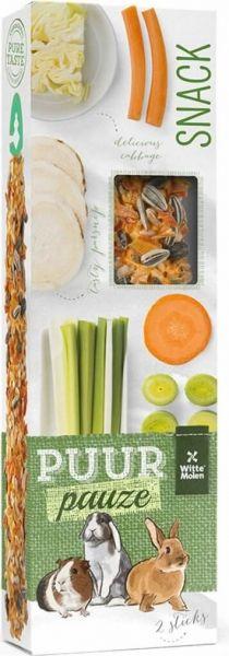 Bâtonnet Stick aux légumes PUUR Carrot, Sprouts, Greedy People