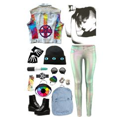 """""""colorfully badass"""" by ill-u-s-i-0-n on Polyvore"""