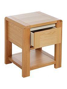 Houston 1 drawer bedside