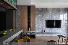 小坪數的放大巧思!超越 15 坪限制的灰色系機能宅-設計家 Searchome Loft Style, Flat Screen, Interior Design, Blood Plasma, Nest Design, Home Interior Design, Interior Designing, Flatscreen, Home Decor
