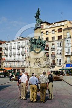 Monument to the Battle of Vitoria, in Vitoria Gasteiz, Spain