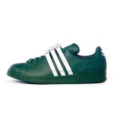 promo code 251d7 61829 Adidas Stan Smith Strap x Raf Simons Dark Green White AQ2722 Mens Womans Adidas  Stan Smith
