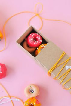 Mini donuts: http://www.stylemepretty.com/living/2015/03/20/diy-woodburned-gift-tags/