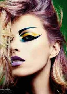 Over the edge makeup