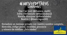 Ganadores #MeVoyDeTapas semana 4