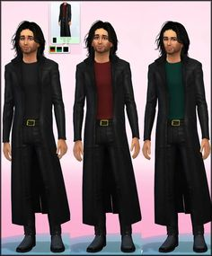 Male Oracle Coat Retextured at Julie J via Sims 4 Updates