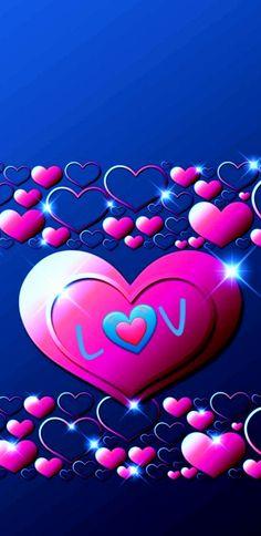 Glitter Wallpaper, Heart Wallpaper, Love Wallpaper, Wallpaper Backgrounds, Iphone Wallpaper, Valentine Wallpaper, Heart Pictures, Love Pictures, 2 Clipart
