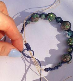 Jesse James Beads: Jewelry Tutorial: Shamballa-la-la Bracelet