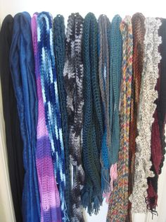Easy Crochet Scarves Make a Great Family Craft Project