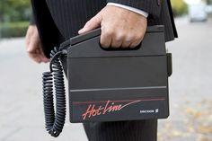 """""""Biltelefon"""" kallade man det på den tiden."""