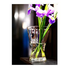 VASEN Vase, clear glass - IKEA.... These are only $1.79 each, and they have a bunch of other cheap options as well