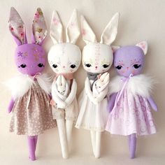 Spring Friends pdf Pattern by Gingermelon on Etsy