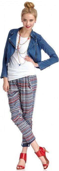 Leisure Look - dope pants.