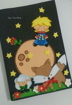 Capa decorada Pequeno príncipe #gomaevamoldes