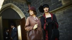Mentor and a friend ... Ashleigh Cummings (who plays Dot) on Essie Davis' help in Miss Fisher.