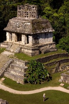 Maya site of Palenque, Mexico