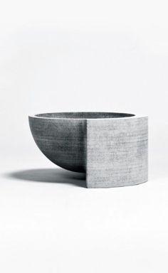 Concrete Bowl | Vessel | Concrete product design | Philippe Malouin | Interior Inspiration | design | Beton design | Betonlook |