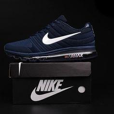 Nike Air Max 2017 Dark Blue White Logo Men Shoes [airmax2017-051] - $65.99 :   nikeairmax2017onlinestore   Scoop.it