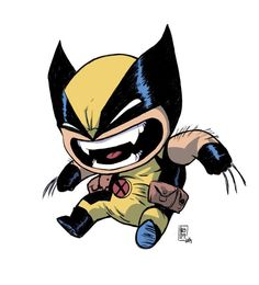 Wolverine -- chibi / SD / super deformed