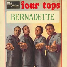 Bernadette (Four Tops song) - Wikipedia, the free encyclopedia