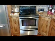 **Frigidaire Stainless Glass Stove & Oven
