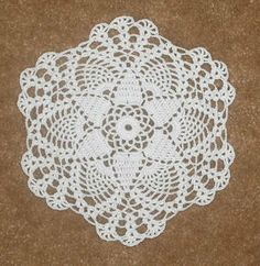 easy crochet dollies patterns | Crochet Petite Seasonal Doily Patterns - Petite Autumn Doily Pattern