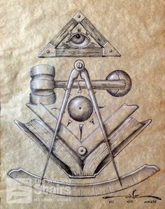 Light of Wisdom | Latest installment of the Masonic Light collection. A tribute to all Past Masters. Give it as a gift to the Past Masters of your Lodge. http://store.thewindingstairs.com/light-of-wisdom-artist-print-on-paper/