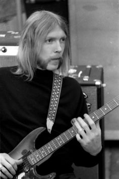 "Howard Duane Allman (November 20, 1946 – October 29, 1971) was an American guitarist, session musician, and the co-founder and primary leader of ""The Allman Brothers Band"" until his death in a motorcycle accident in 1971 at the age of 24. In 2003, Rolling Stone magazine ranked Allman at #2 in their list of the 100 greatest guitarists of all time, second only to Jimi Hendrix. ~ Wiki ~ srchd by ~._*G*_.~"
