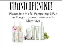 Postcard invitations for Mary Kay business launch  http://www.blog.qtoffice.com/bid/99076/Free-Printable-Mary-Kay-Business-Debut-Postcards