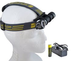 2014 Armytek Wizard 1200 Luments Brightest Rechargeable Headlamp Bicycle Headlight
