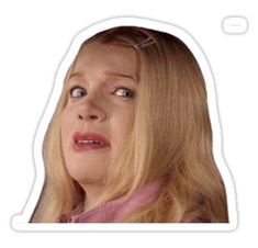 """""""Wtf - White Chicks"""" Stickers by Snapchat Stickers, Meme Stickers, Tumblr Stickers, Phone Stickers, Cool Stickers, Printable Stickers, Planner Stickers, Tumblr Png, White Chicks"""