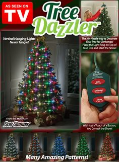 7 Best Tree Dazzler Images In 2017 Tree Dazzler Christmas Deco
