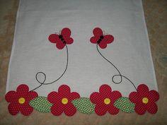 Aplicaciones Patchwork Flores Ideas 55 New Ideas Wool Applique, Applique Patterns, Applique Designs, Embroidery Applique, Quilt Patterns, Machine Embroidery, Embroidery Designs, Patch Quilt, Quilt Blocks
