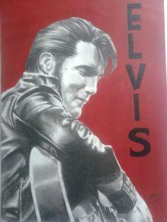 Elvis lapis grafite