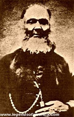 Newman 'Old Man' Clanton head of the Clanton Gang. @1880